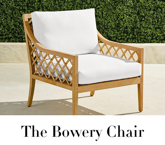 The Bowery Chair