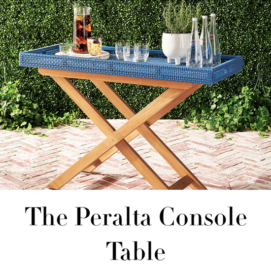 The Peralta Console Table