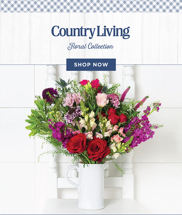 Introducing the Country Living Floral Collection - Shop Now!